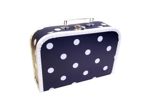 Spielkoffer Kofferset Karo blau 3tlg