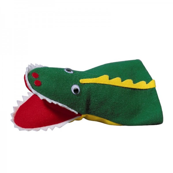 Krokodil   Handpuppen Kersa Lina