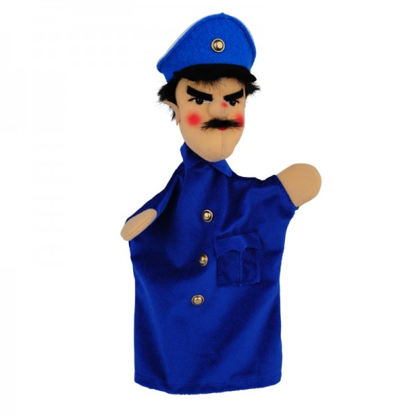 Polizist blau   Handpuppen Kersa Classic