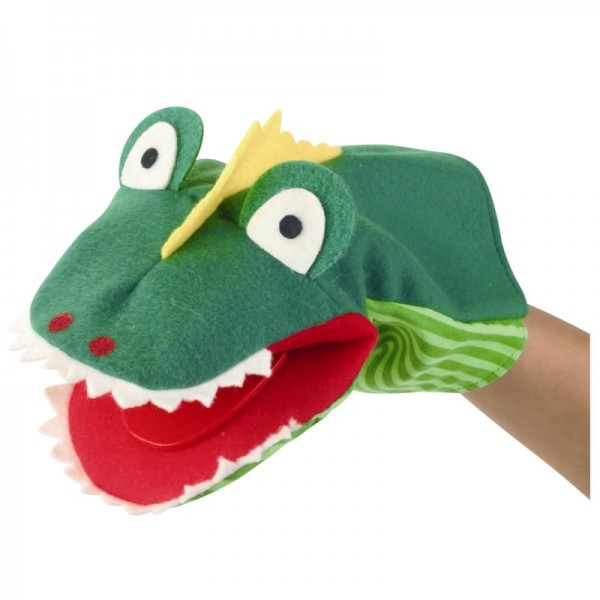 Krokodil Klappi   Handpuppen Kersa Classic