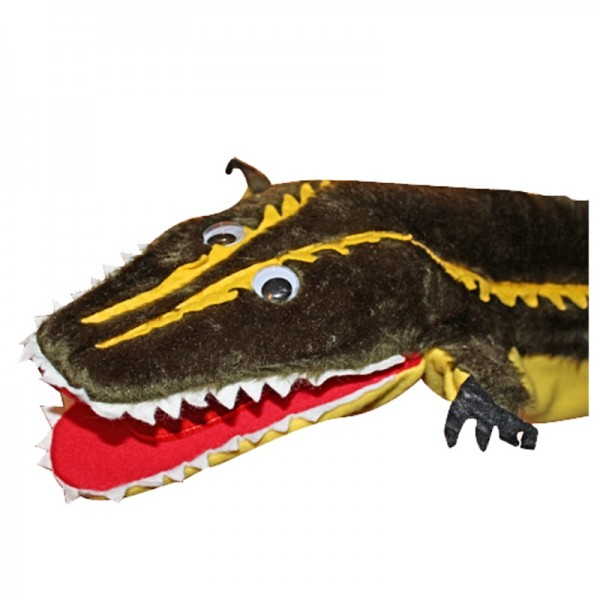 Krokodil lang   Handpuppen Kersa Classic